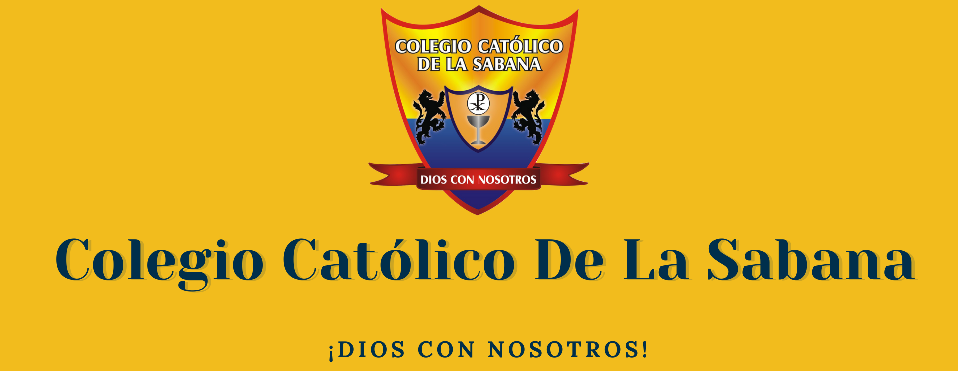 Colegio Católico de la Sabana Logo